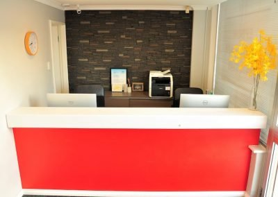 epsom dental care dentist belmont wa reception area
