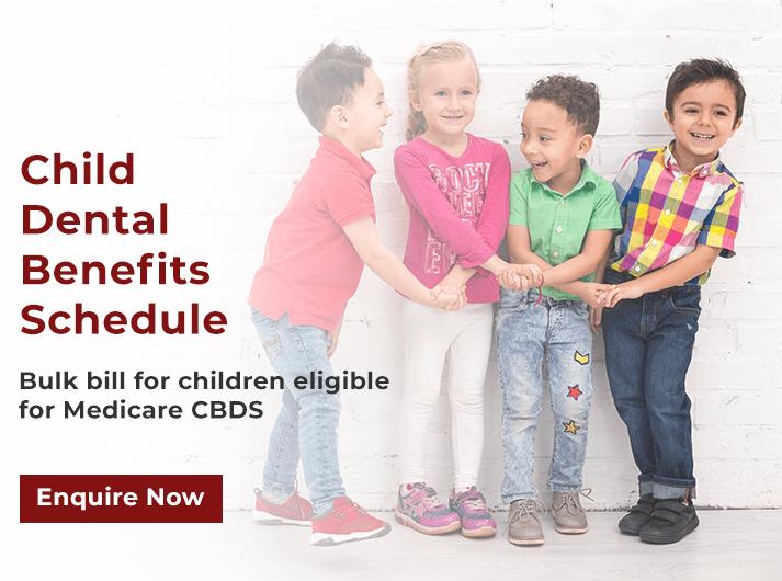 child dental benefits schedule banner belmont wa